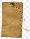复古牛皮纸标签图片