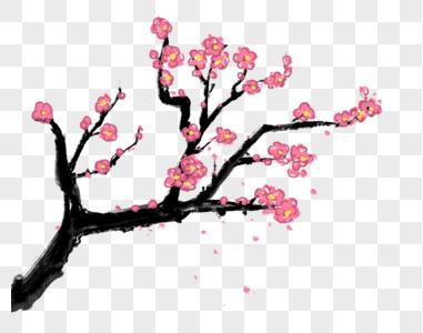 桃花树免抠_树免抠元素-树素材-PNG图片下载-摄图网