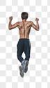 健身房 健身房男性引体向上运动图片