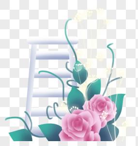 玫瑰花梯图片