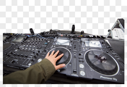 dj打碟图片