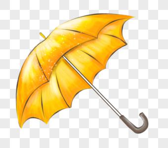 黄色雨伞图片