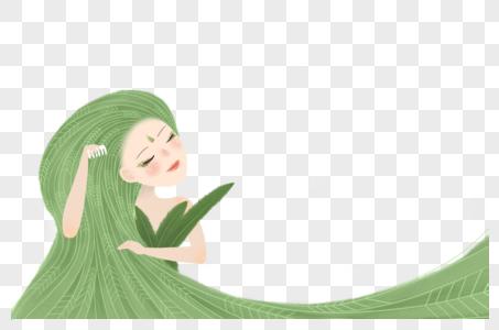 长发女孩图片