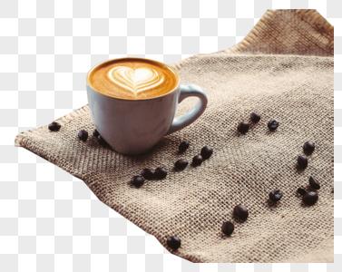 咖啡与咖啡豆图片