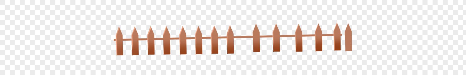 木头栅栏图片