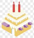 2.5D蛋糕图片