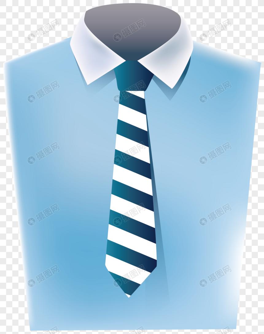 服装衬衣领带促销图片