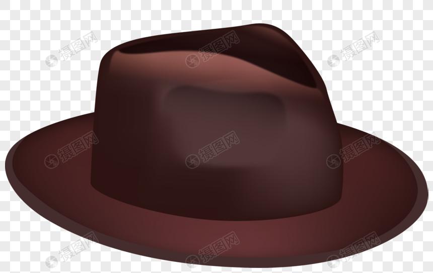 礼帽促销矢量图片