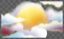 天空背景装饰图片