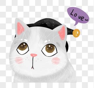 手绘欧式猫咪图片