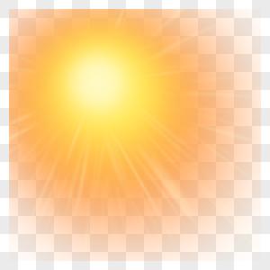 太阳光效图片