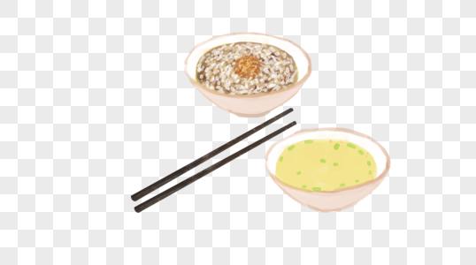 两碗美食图片
