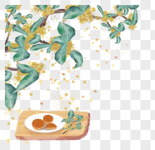 桂花糕图片