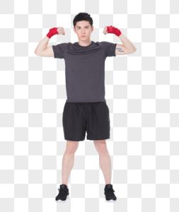 健身男性护腕绑带图片