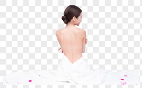 美容美体SPA背部展示图片