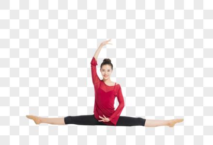 优雅的舞蹈女生图片