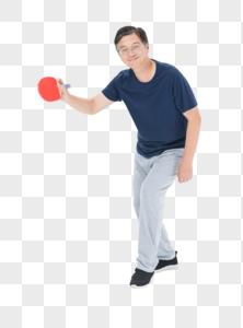老年人运动乒乓球图片