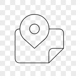 原创地图图标图片