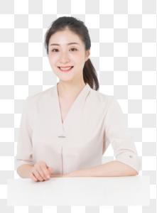商务女性形象图片