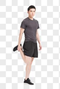 健身运动热身拉伸动作图片