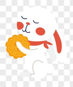 中秋节兔子图片