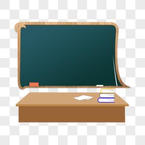 卡通教室黑板图片