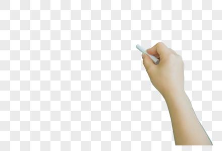 校园教室写粉笔特写图片