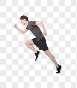 运动健身赛跑冲刺图片