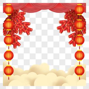 新年中国风边框图片