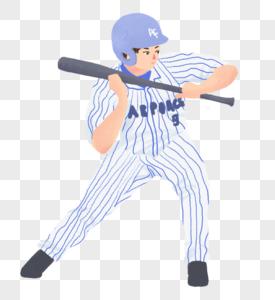 棒球运动员图片