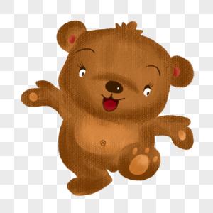 卡通小熊娃娃图片