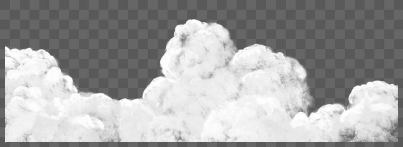 白云层图片