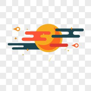 太阳云彩图片