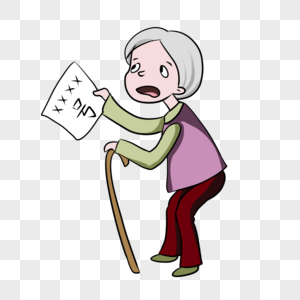 卖报纸的老奶奶图片