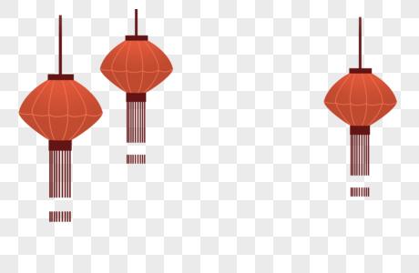 灯笼装饰图片