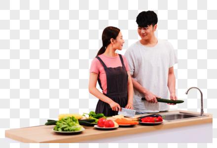家庭生活厨房做饭图片