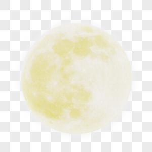 手绘中秋月亮图片