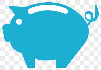 小猪存钱罐图片