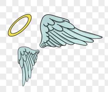 翅膀光环图片