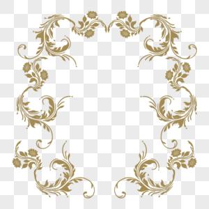 古典元素框图片
