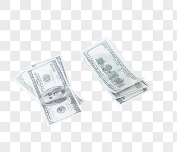 摆放美元成堆图片