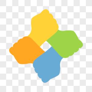 团结互助图标图片