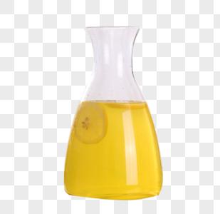 玻璃茶壶柠檬茶图片