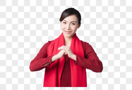 新春汉服美女图片图片