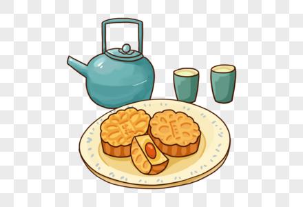 中秋节食物图片