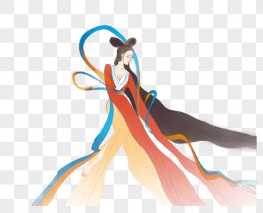 嫦娥舞蹈免扣图图片