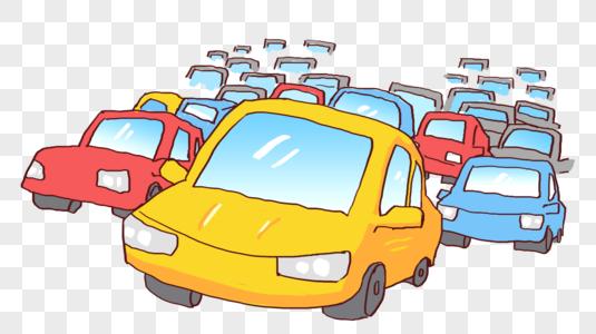 汽车堆图片