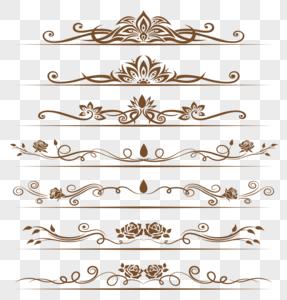 欧式花藤边框图片