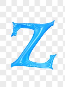 气球字母Z图片