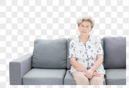 老年奶奶居家形象图片